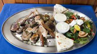 Platter with Quail