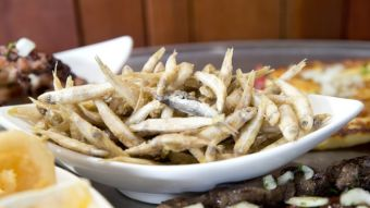 Platter with Whitebait
